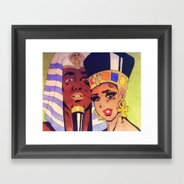 Woke Up Together Framed Art Print