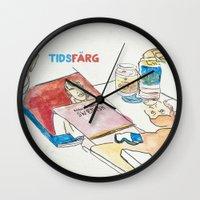 swedish Wall Clocks featuring Learn Swedish by Alex Cisneros