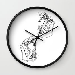 Modern Picasso Wall Clock