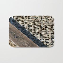 Wooden composition Bath Mat