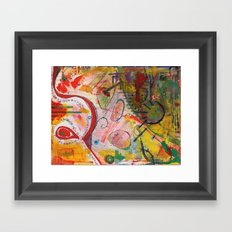 Scan #18 Framed Art Print