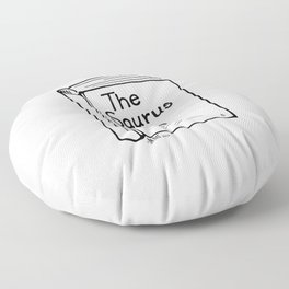 TheSaurus Floor Pillow