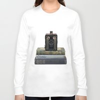 old school Long Sleeve T-shirts featuring Old School by Maureen Bates Photography