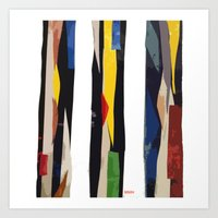 subway Art Prints featuring Subway by Myles Hunt