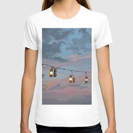 Sunset Traffic Lights T-shirt