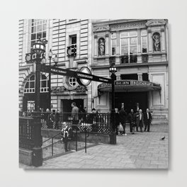 At Piccadilly Metal Print
