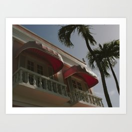 Beachfront Art Print