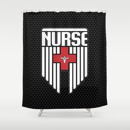Nurse Shield Shower Curtain