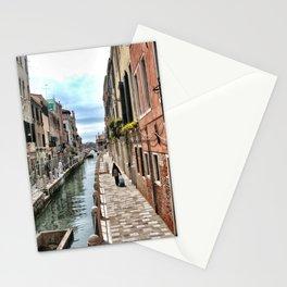 A Lonely traveler, Venice, 2006 Stationery Cards