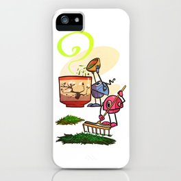 Tea Helpers - Bountiful Harvest! iPhone Case