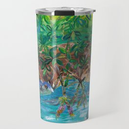 Island Mangroves Travel Mug