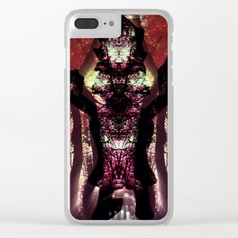 The nature dance Clear iPhone Case