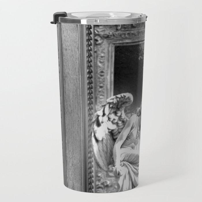 Angel of Bristol (BW) Travel Mug