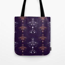 Mystic Moths Tote Bag