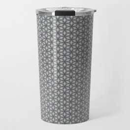 Geometric Flower Pattern 1 Travel Mug