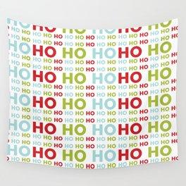 Ho Ho Ho Merry Christmas Wall Tapestry