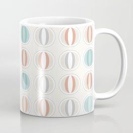 Retro midcentury geometric: Partenone Coffee Mug