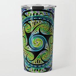 Variated Spheres #1.5 Psychedelic Celtic Design Travel Mug