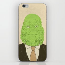 Young Professional from the Black Lagoon iPhone Skin