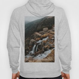 Autumn falls - Landscape and Nature Photography Hoody