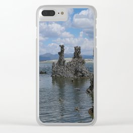Tuff Area At Mono Lake Clear iPhone Case