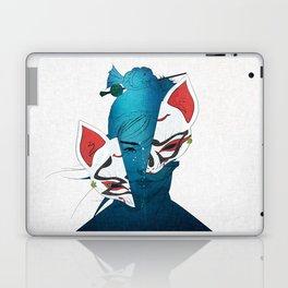 Fox Mask Laptop & iPad Skin