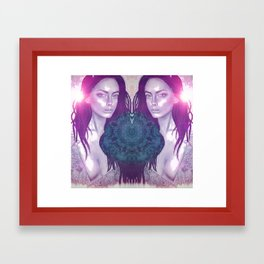 Kaleidoscope part 2 Framed Art Print