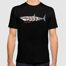 Sushi Mako Black LARGE Mens Fitted Tee