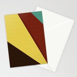 Retro Earth Tones Stationery Cards