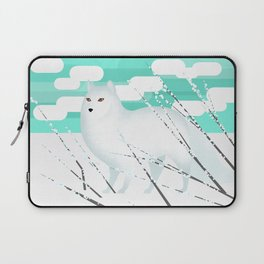 Arctic Fox - Cold but beautiful Laptop Sleeve