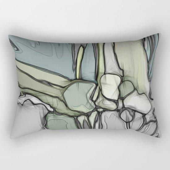 Canyon rocks series No. 3 of 10 Rectangular Pillow