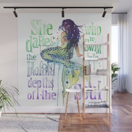 Mermaid : Profound Depths Wall Mural