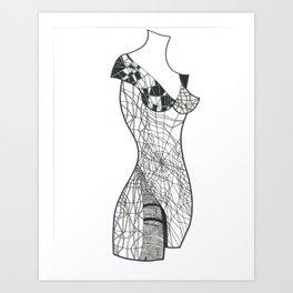 Mannequin Art Print