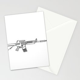 """""""Come and Take It"""" tee design. Makes a unique gift for gun lovers out there! Come one grab it now!   Stationery Cards"""