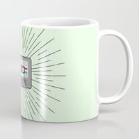 tape Mugs featuring Tape by Colleen Sweeney