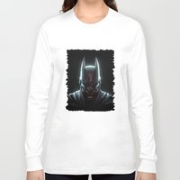 bat man Long Sleeve T-shirts featuring BAT MAN - bat man by Raisya