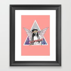 Wild Child Framed Art Print