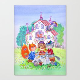 thea party Canvas Print