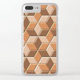 Geometrix L Clear iPhone Case