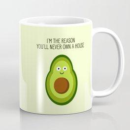 Smug Avocado Coffee Mug