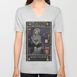 Dolly Parton Unisex V-Neck