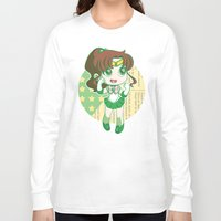 sailor jupiter Long Sleeve T-shirts featuring Sailor Jupiter by strawberryquiche