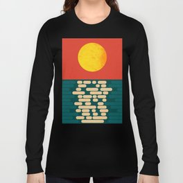 Sun Over The Sea - Afternoon Long Sleeve T-shirt