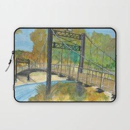 Byram Swinging Bridge Laptop Sleeve