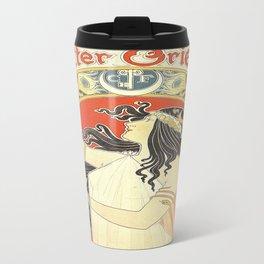 Vintage poster - Bitter Oriental Travel Mug