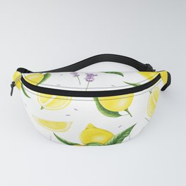Lemon and lavender Fanny Pack