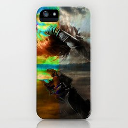 Waves in the infinite iPhone Case
