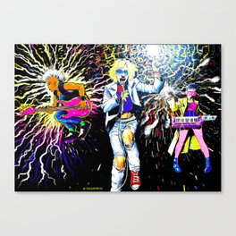 Never Mind the Morlocks, Here's the X-Pistols Canvas Print