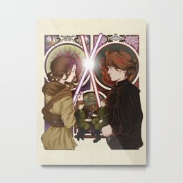 The Sword and the Sith Metal Print