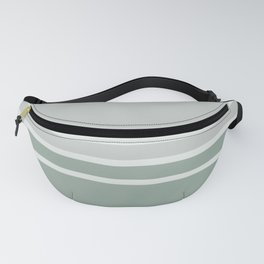 Lines Green Fanny Pack